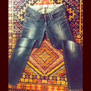 G-Star Straight Leg Midge Jeans - Dover Wash